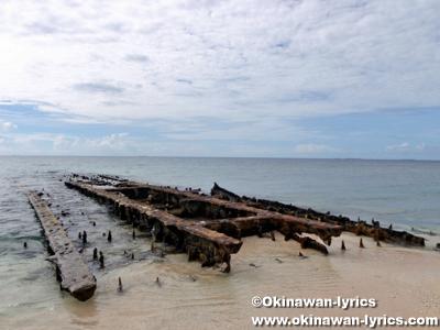 戦跡@モグモグ島(Mogmog Is.),ユリシー環礁(Ulithi Atoll)