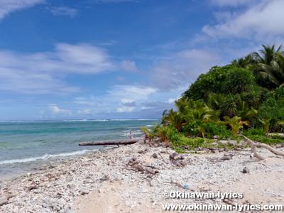 ソゴロイ島(Sogoroi Is., Sorlen Is., Sogoly Is.)@ユリシー環礁(Ulithi Atoll)