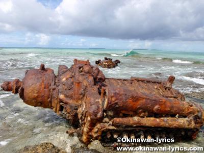 イウィチ島(Ywich Is., Eoet Is., Ewachi Is.)@ユリシー環礁(Ulithi Atoll)
