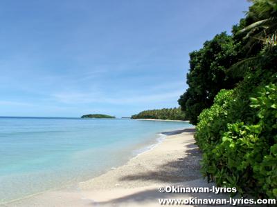 フェダライ島(Fadarai Is., Fassarai Is.)@ユリシー環礁(Ulithi Atoll)
