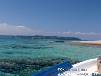 コマカ島からの帰りの船