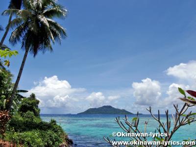 竹島(Etten Is.)、ミクロネシア