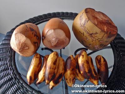 バナナとココナッツ