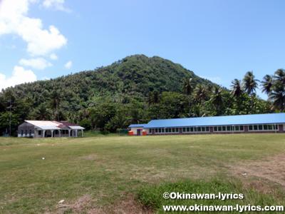 七曜諸島の月曜島(Udot Is.)