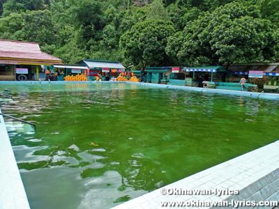 スマトラ島のスバン温泉