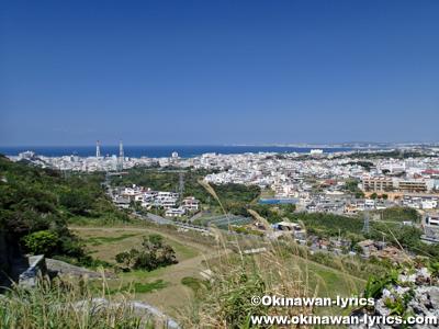 浦添城跡からの眺め