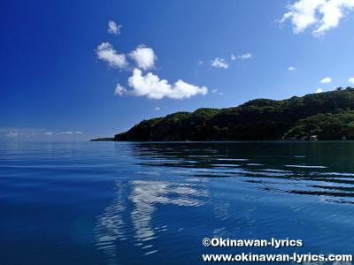 舟浮湾でカヤック@西表島