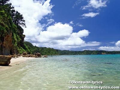 イダの浜近くのプライベートビーチ@西表島
