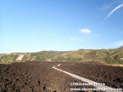 火山体験遊歩道@三宅島