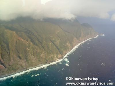 御蔵島, 東邦航空