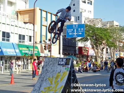 BMXショー@沖縄国際カーニバル2013