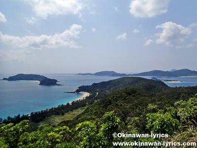 高月山展望台@座間味島