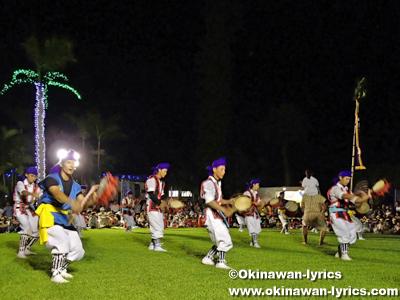 エイサーナイト2014@東南植物楽園、沖縄本島