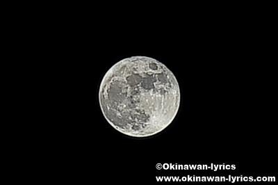 Canon PowerShot G7Xで、満月の撮影に挑戦