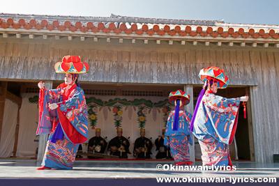 古典女踊り「四つ竹」