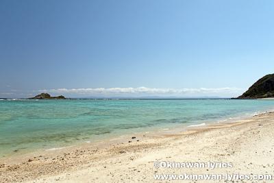 伊是名島のターシ浜