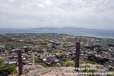 城山(伊江島タッチュー)