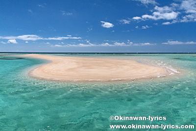 朝一番に誰もいない百合ヶ浜へ、与論島