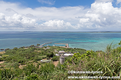 大神島の遠見台