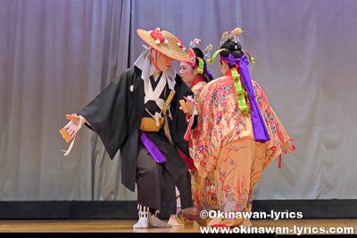 四ツ竹@名護市屋部の八月踊り