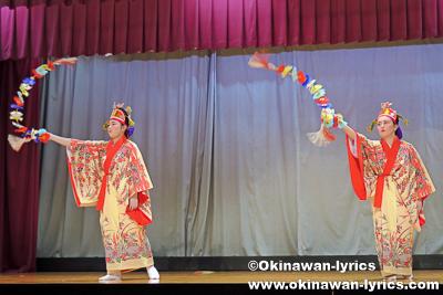 花踊り@名護市屋部の八月踊り
