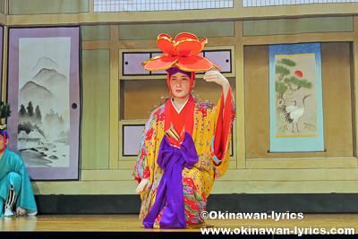 五福之舞(松竹梅)@名護市屋部の八月踊り