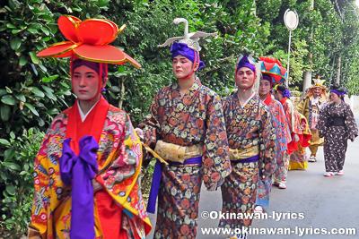 道ジュネー@名護市屋部の八月踊り