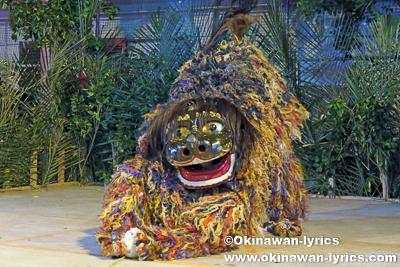 浦添市勢理客の獅子舞@首里末吉町十五夜祭