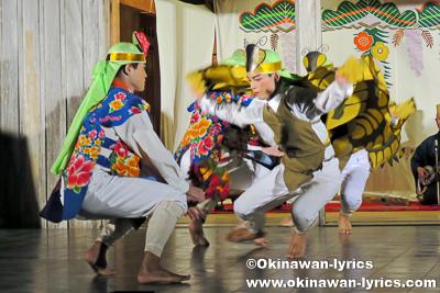 南城市知名のヌーバレー(胡蝶の舞)@平成27年度 首里城祭(伝統芸能の宴)