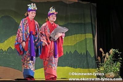 平成27年度 伊江村民俗芸能発表会(その2・組踊「大川敵討」)、伊江島