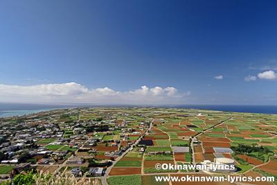 伊江島をレンタバイクで一周