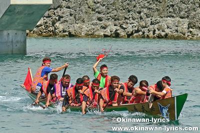 四番バーリー@奥武島海神祭