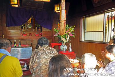観音堂@奥武島海神祭