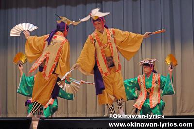鶴亀@名護市宮里の豊年祭