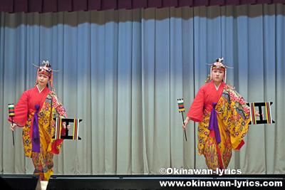 かしかけ(かせかけ,綛掛)@名護市宮里の豊年祭