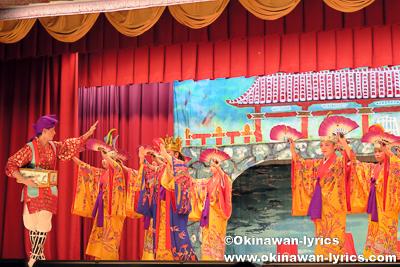 浦島@名護市宮里の豊年祭