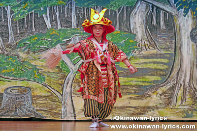 名護市宮里区豊年祭 その2(組踊り)、沖縄本島