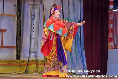 女踊り@本部町備瀬区豊年祭