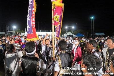カチャーシー@第10回 八重瀬町青年エイサー祭り