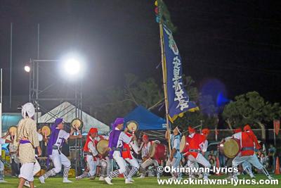 八重瀬町安里青年会@第10回 八重瀬町青年エイサー祭り