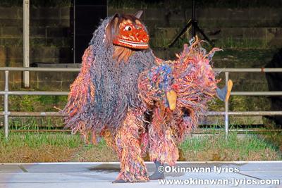 宜野湾市普天間獅子舞@第31回 全島獅子舞フェスティバル