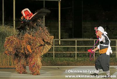 中城村津覇獅子舞@第31回 全島獅子舞フェスティバル