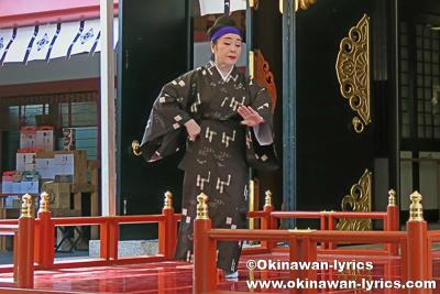 琉球舞踊(浜千鳥)@なんみん祭
