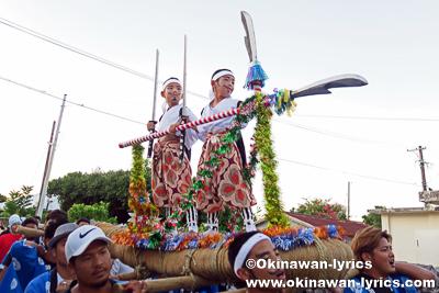 綱引き@比嘉区豊年祭(浜比嘉島)