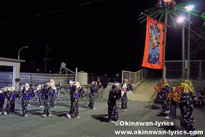 ウスデーク@比嘉区豊年祭(浜比嘉島)