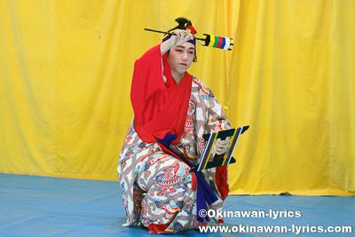 琉球舞踊(かせかけ)@比嘉区豊年祭(浜比嘉島)
