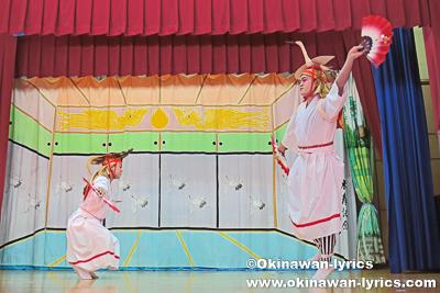 鶴亀@名護市川上区豊年祭