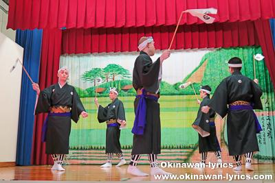 総踊り@名護市川上区豊年祭