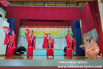長者の大主@名護市川上区豊年祭