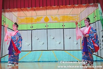 四つ竹@名護市川上区豊年祭